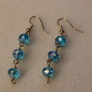Thunder Polish Crystal Drop Earrings