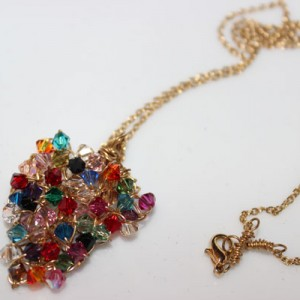 Multi Swarovski Necklace