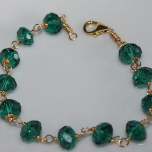 Gold Thunder Polish Chain Bracelet